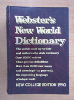 Anticariat: Webster's new world dictionary