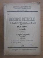 Anticariat: A. Batcu - Biochimie medicala (volumul 1, fascicula 1)