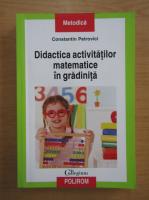 Constantin Petrovici - Didactica activitatilor matematice in gradinita