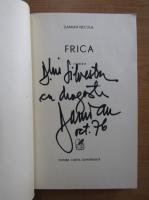 Anticariat: Damian Necula - Frica (cu autograful autorului)