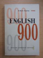 Anticariat: English 900 (volumul 3)