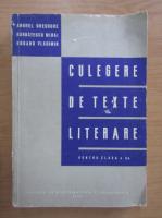 Anticariat: Gheorghe Anghel - Culegere de texte literare pentru clasa a X-a