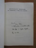 Anticariat: Ileana Benga, Bogdan Neagota - Religiosita popolare (cu autografele autorilor)