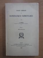 J. Haag - Cours complet de mathematiques elementaires (volumul 5)