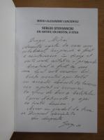 Anticariat: Mihai Alexandru Canciovici - Sergiu Stefanschi. Un artist, un destin, o stea (cu autograful autorului)