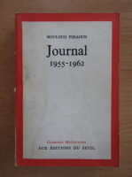 Anticariat: Moulund Feraoun - Journal 1955-1962