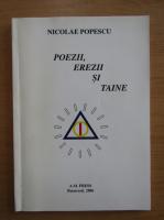 Anticariat: Nicolae Popescu - Poezii, erezii si taine