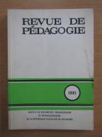 Anticariat: Revue de pedagogie, 1981