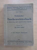 Anticariat: Silviu Cristea - Technisches Taschenworterbuch in deutscher und rumanischer Sprache