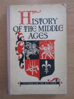 Anticariat: E. V. Agibalova - History oh the Middle Ages
