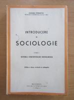Eugeniu Sperantia - Introducere in sociologie (volumul 1)