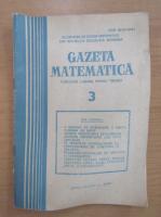 Anticariat: Gazeta matematica, anul LXXXIX, nr. 3, 1984
