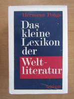 Anticariat: Hermann Pongs - Das kleine lexikon der Weltliteratur