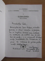 Anticariat: Ion Popescu - Globalizarea, mit si realitate (cu autograful autorului)