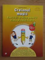 Anticariat: Irinel Beatrice Nicoara - Creionul magic. Exercitii grafice pentru clasa pregatitoare