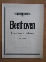 Anticariat: Ludwig van Beethoven - Sonate Opus 13. Pathetique