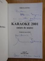 Anticariat: Mircea Bunea - Karaoke 2001 (cu autograful autorului)