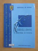 Anticariat: Resursele umane in Ministerul de Interne, anul II, nr. 3-4, 2001