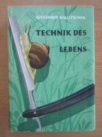 Anticariat: Alexander Niklitschek - Technik des lebens