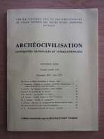 Anticariat: Archeocivilisation, nr. 9-10, decembrie 1970-iunie 1971