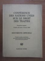 Anticariat: Conference des Nations Unies sur le droit des traites