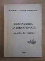 Anticariat: Destinderea internationala