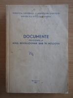 Anticariat: Documente privitoare la anul revolutionar 1848 in Moldova