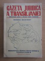 Anticariat: Gazeta Juridica a Transilvaniei, anul II, nr. 5-10, 30 octombrie 1944