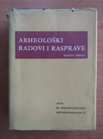 Anticariat: Knjiga Druga - Arheoloski Radovi I Rasprave (volumul 2)