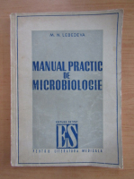 Anticariat: M. N. Lebedeva - Manual practic de microbiologie