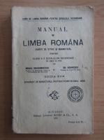 Mihail Dragomirescu - Manual de limba romana