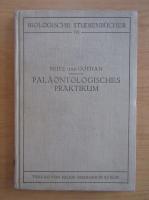 Anticariat: O. Seitz - Palaontologisches Praktikum