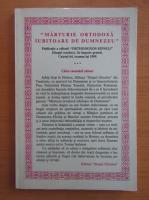 Anticariat: Revista Marturie ortodoxa iubitoare de Dumnezeu, caietul 64