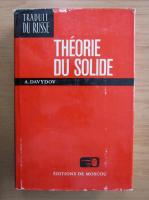 A. Davydov - Theorie du solide