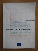 Anticariat: Agenda europeana pentru cultura. Raport de bune practici