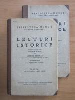 Anticariat: Albert Thomas - Lecturi istorice (2 volume)