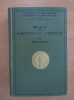Anticariat: Alois Hofler - Didaktik des Mathematischen Unterrichts