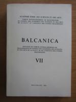 Anticariat: Balcanica (volumul 7)
