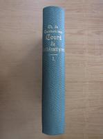 Charles de Comberousse - Cours de mathematiques (volumul 1)