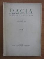 Anticariat: Dacia. Recherches et decouvertes archeologiques en Roumanie (volumele 11-12)