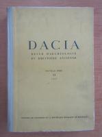 Anticariat: Dacia. Revue d'archeologie et d'histoire ancienne (volumul 11)