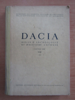 Anticariat: Dacia. Revue d'archeologie et d'histoire ancienne (volumul 22)