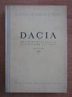 Anticariat: Dacia. Revue d'archeologie et d'histoire ancienne (volumul 23)