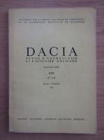 Anticariat: Dacia. Revue d'archeologie et d'histoire ancienne (volumul 30)