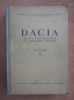 Anticariat: Dacia. Revue d'archeologie et d'histoire ancienne (volumul 4)