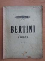 Anticariat: Etudes pour piano par H. Bertini