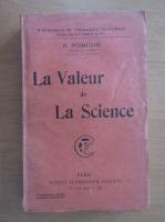 Henri Poincare - La valeur de la science
