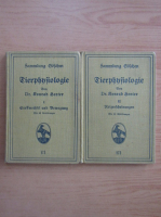 Anticariat: Konrad Herter - Tierphysiologie (2 volume)