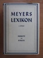 Anticariat: Meyers Lexikon, volumul 8. Muskete bis Rakete