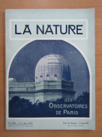 Revista La Nature, nr. 2763, 15 iunie 1927
